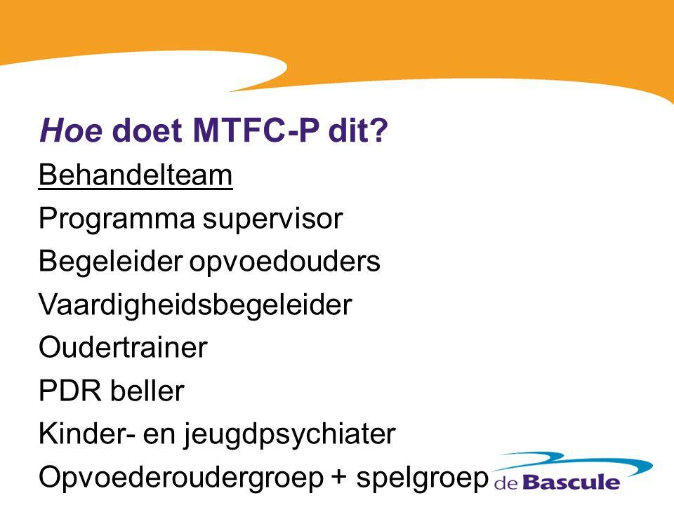 Hoe doet MTFC-P dit