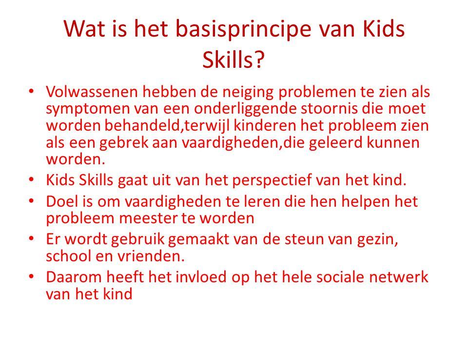Wat is het basisprincipe van Kids Skills