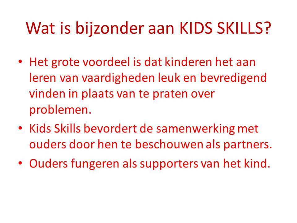 Wat is bijzonder aan KIDS SKILLS