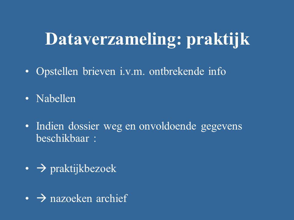Dataverzameling: praktijk