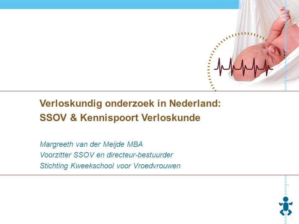 Verloskundig onderzoek in Nederland: SSOV & Kennispoort Verloskunde