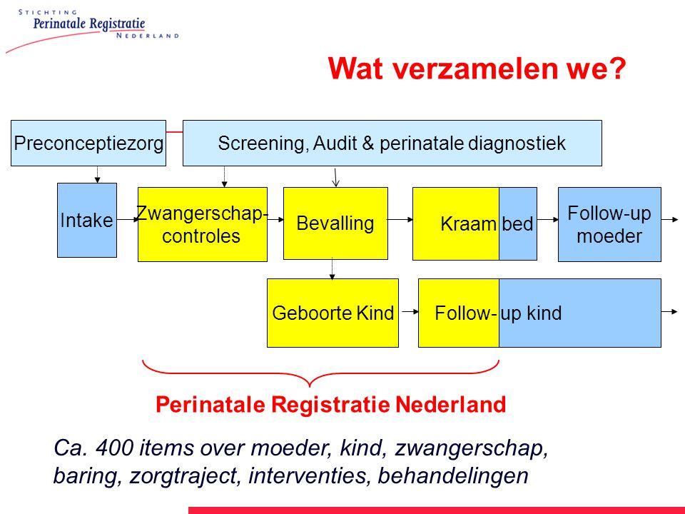 Screening, Audit & perinatale diagnostiek