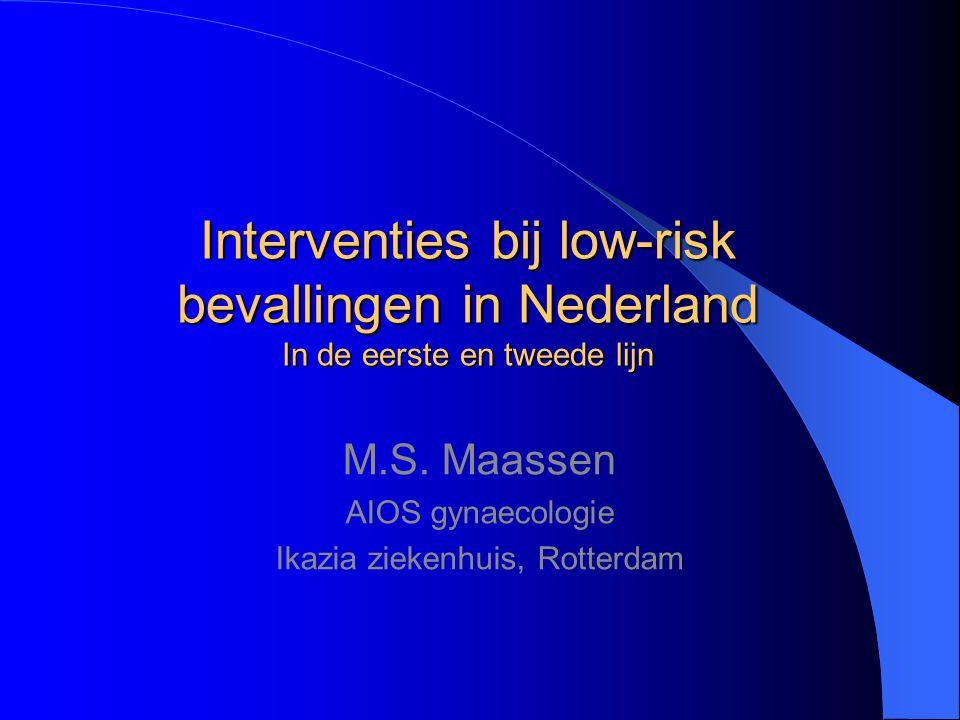 M.S. Maassen AIOS gynaecologie Ikazia ziekenhuis, Rotterdam