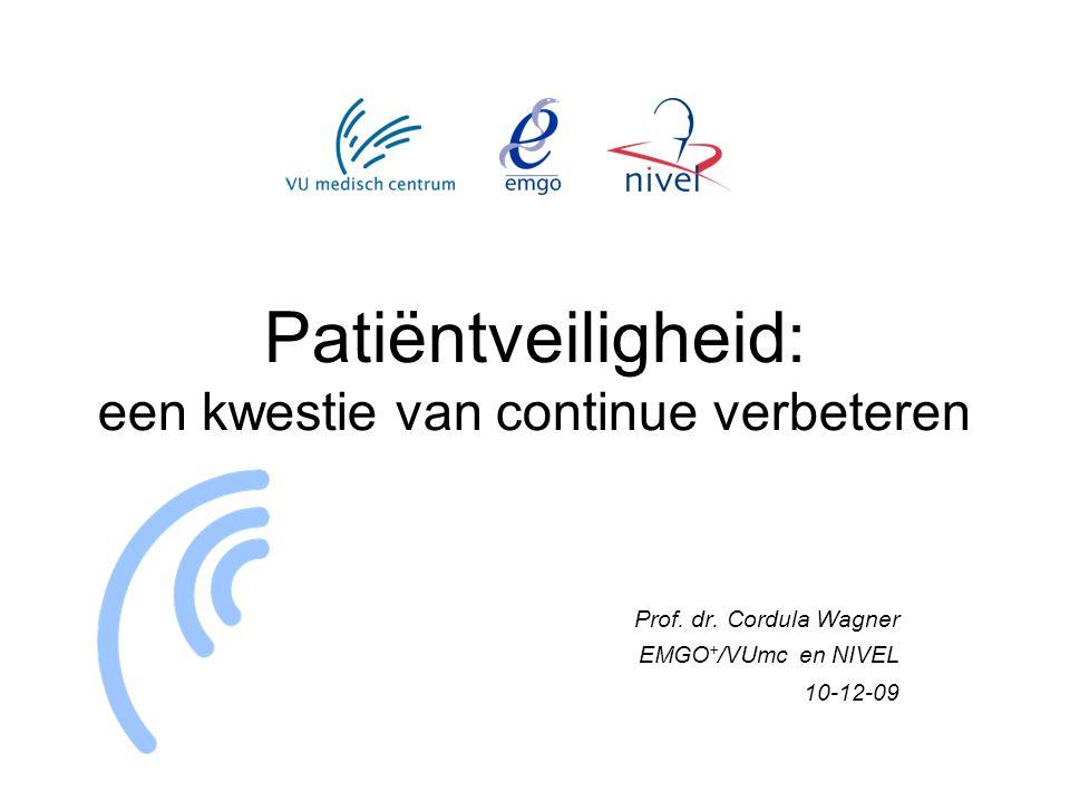 Patiëntveiligheid: een kwestie van continue verbeteren