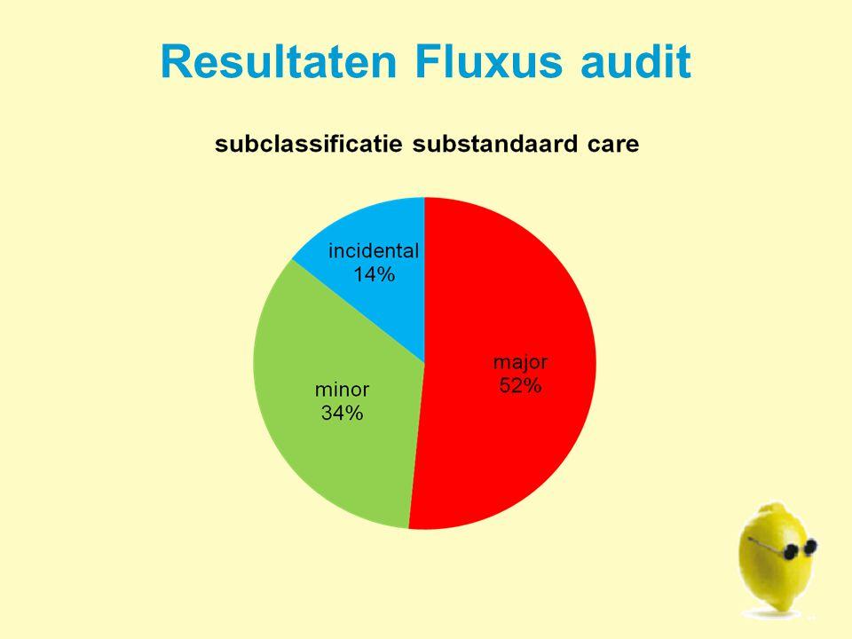 Resultaten Fluxus audit