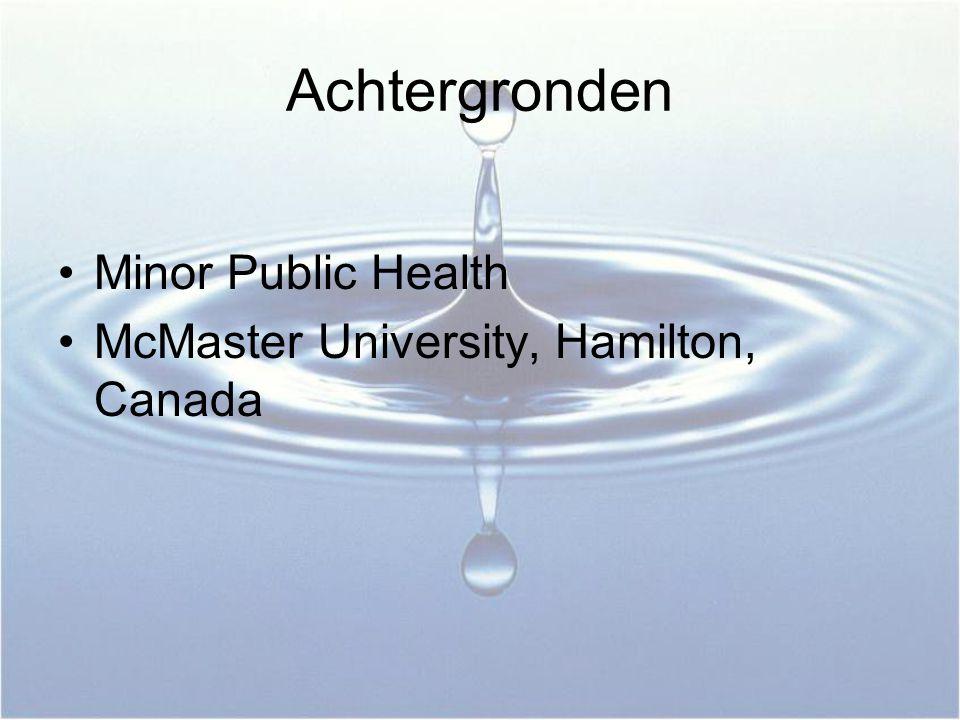Achtergronden Minor Public Health