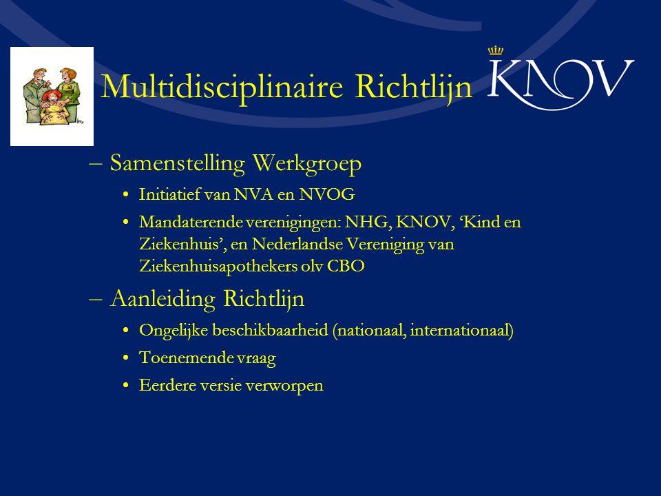 Multidisciplinaire Richtlijn