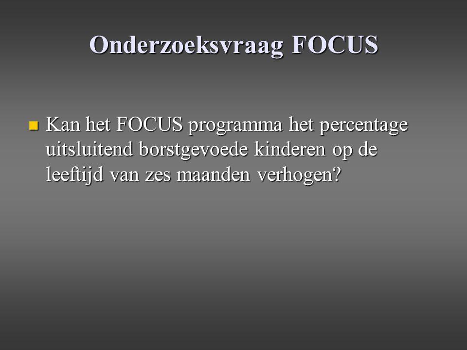 Onderzoeksvraag FOCUS