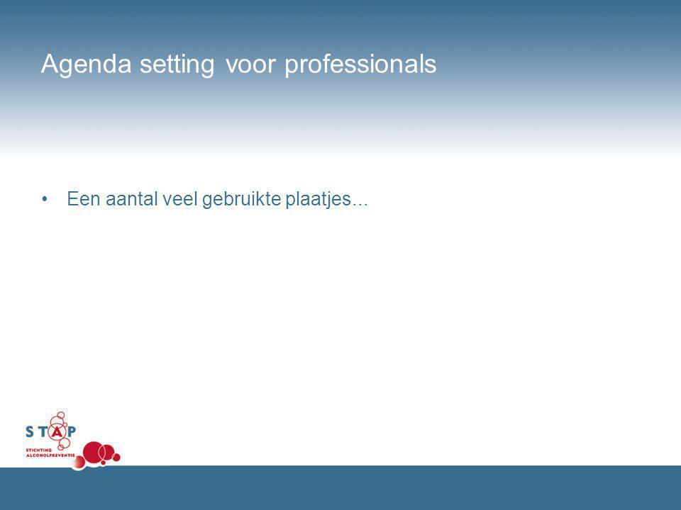 Agenda setting voor professionals
