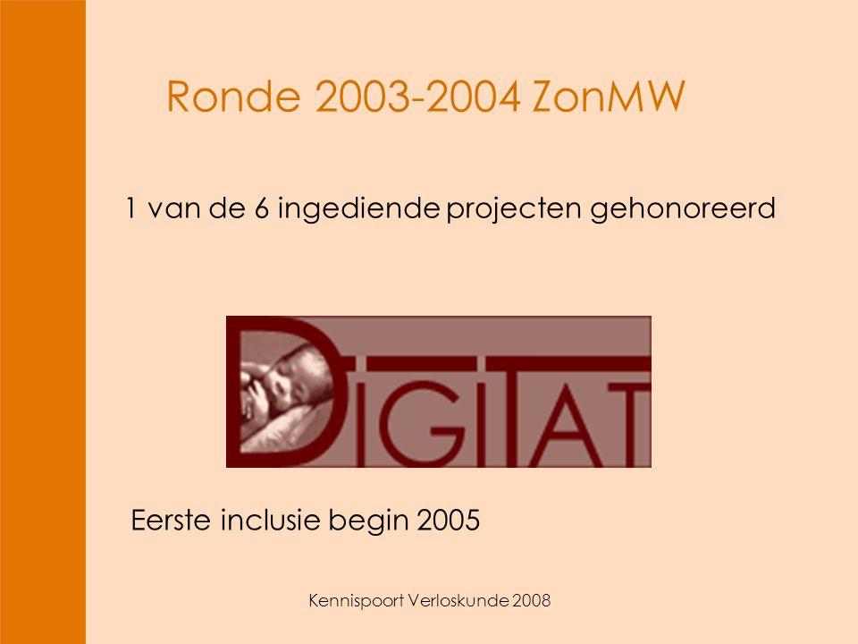 Kennispoort Verloskunde 2008