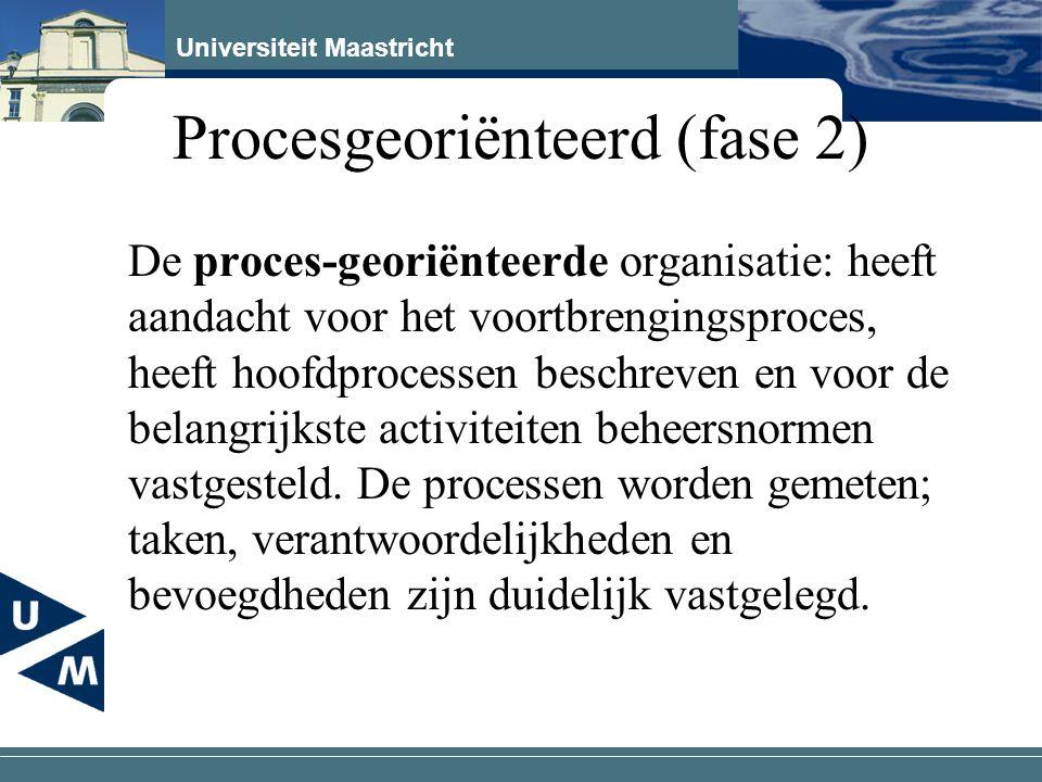 Procesgeoriënteerd (fase 2)