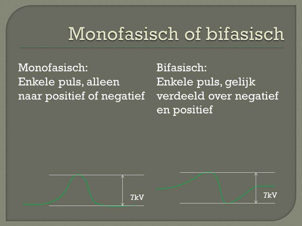 Monofasisch of bifasisch