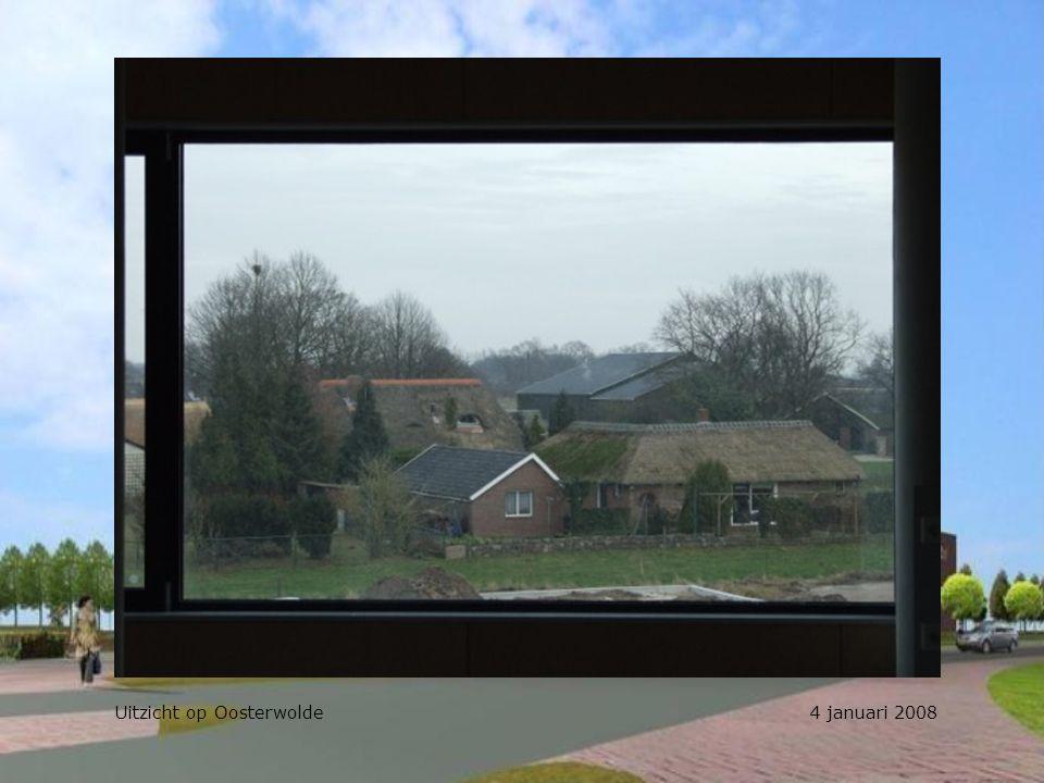 Uitzicht op Oosterwolde 4 januari 2008