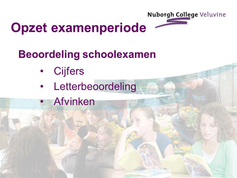 Beoordeling schoolexamen