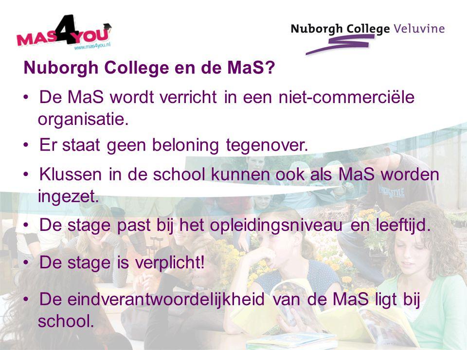 Nuborgh College en de MaS