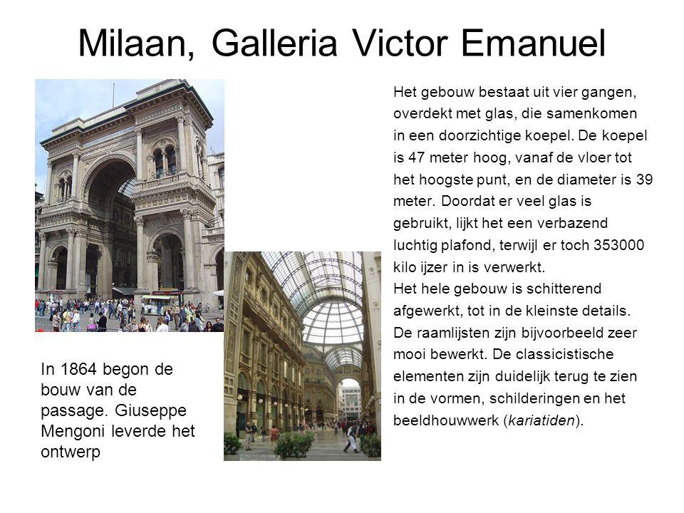 Milaan, Galleria Victor Emanuel