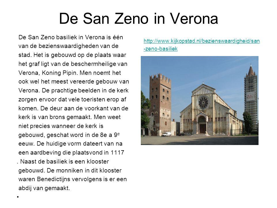 De San Zeno in Verona De San Zeno basiliek in Verona is één