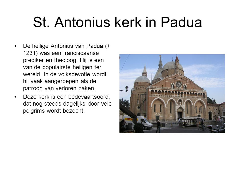St. Antonius kerk in Padua