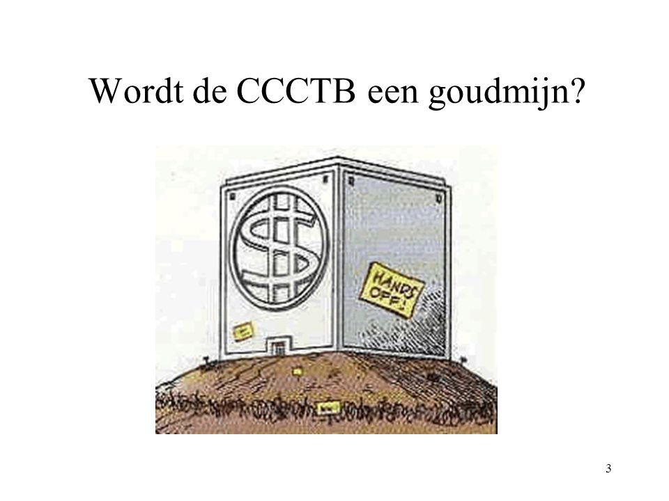Wordt de CCCTB een goudmijn