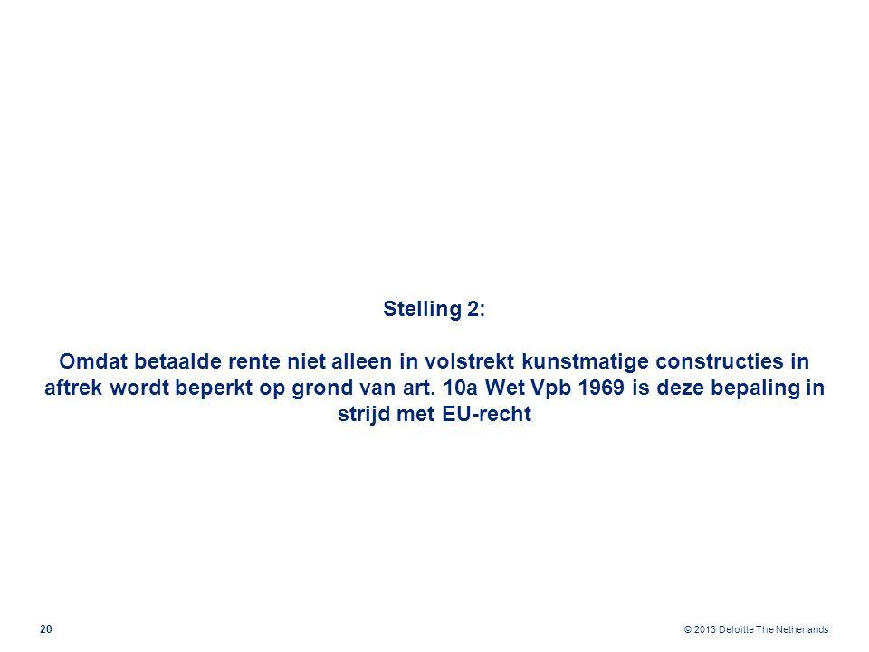 Stelling 3: In het VWEU moet een duidelijke en algemeen geformuleerde anti-misbruikbepaling worden opgenomen