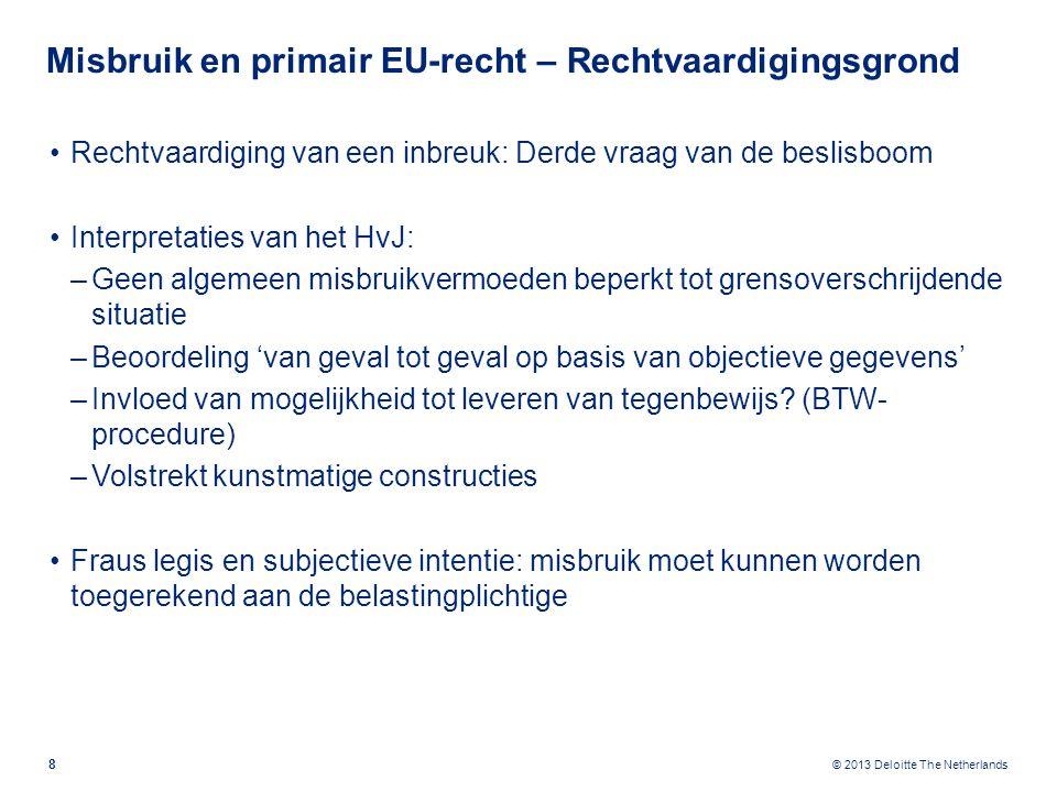 Misbruik en secundair EU-recht - BTW
