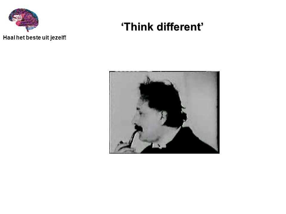 'Think different'