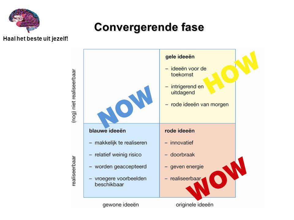 Convergerende fase