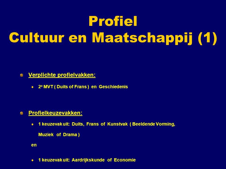 Profiel Cultuur en Maatschappij (1)