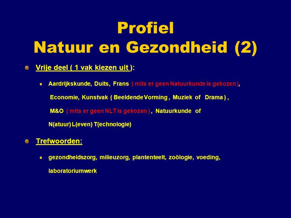 Profiel Natuur en Gezondheid (2)