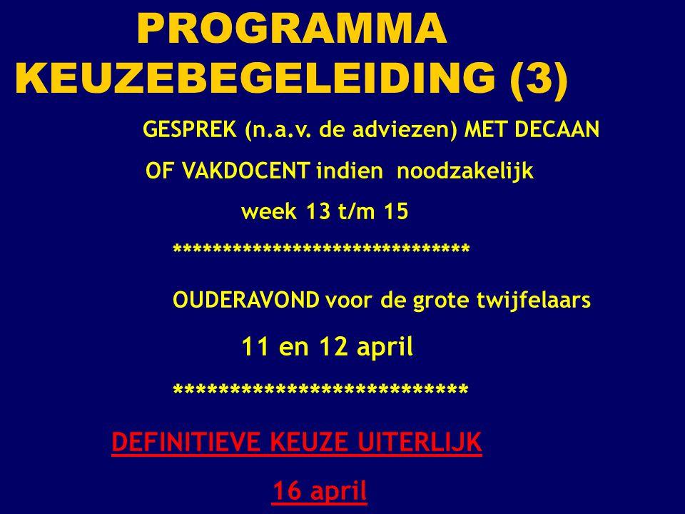 PROGRAMMA KEUZEBEGELEIDING (3)