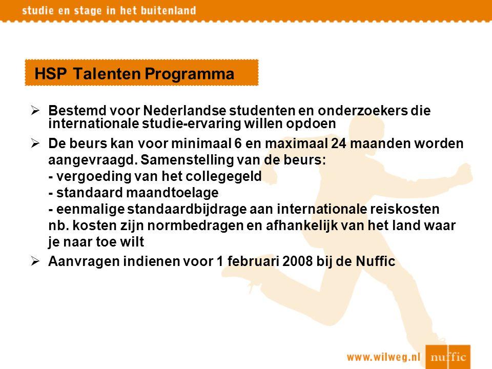 HSP Talenten Programma