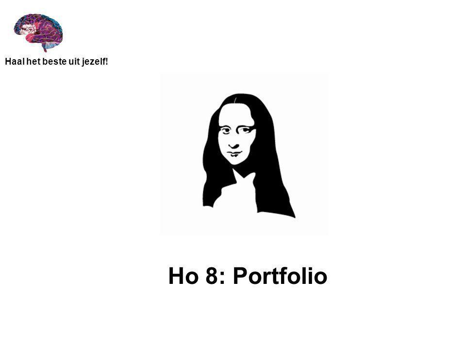 Ho 8: Portfolio