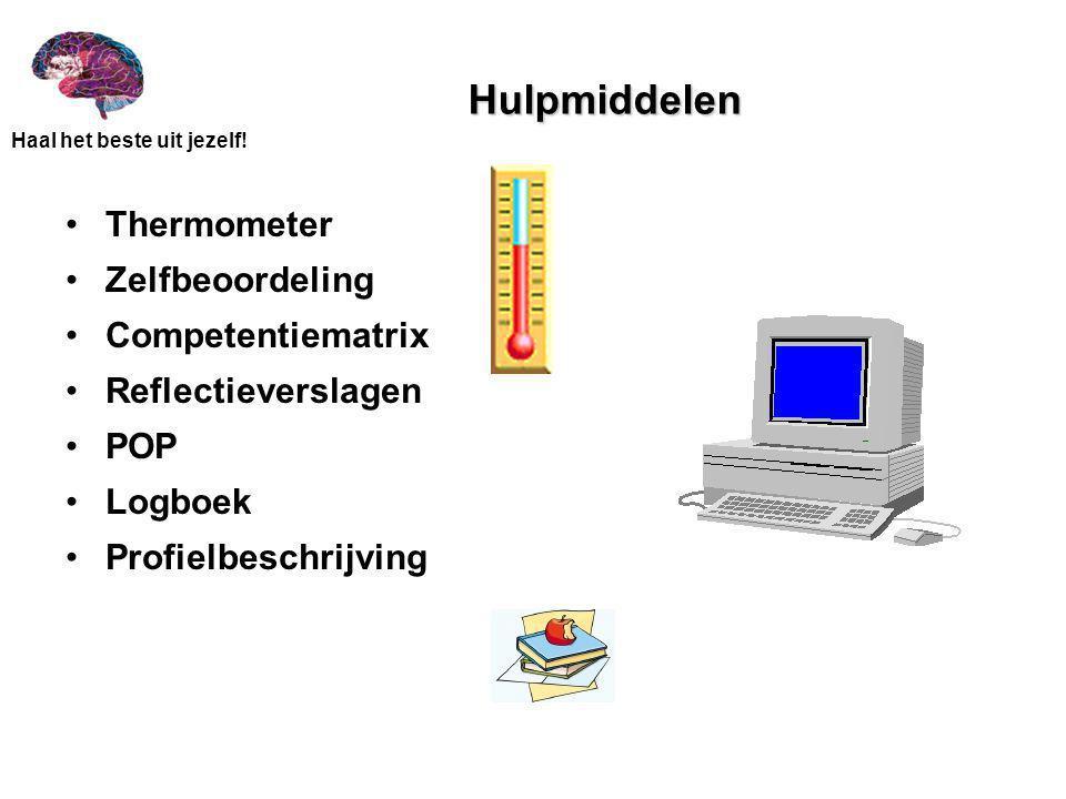 Hulpmiddelen Thermometer Zelfbeoordeling Competentiematrix