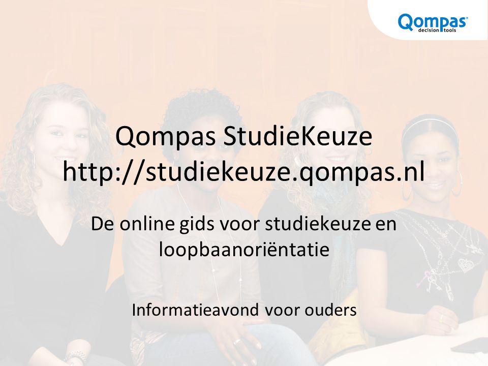 Qompas StudieKeuze http://studiekeuze.qompas.nl