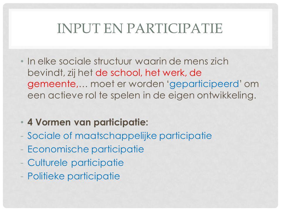 Input en participatie