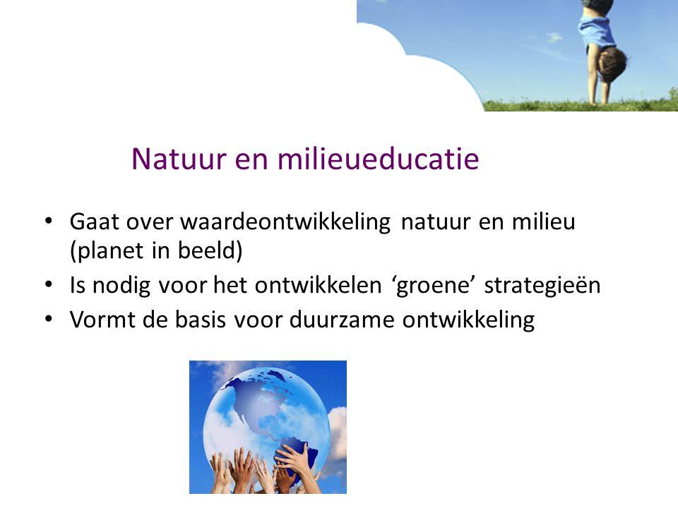 Natuur en milieueducatie
