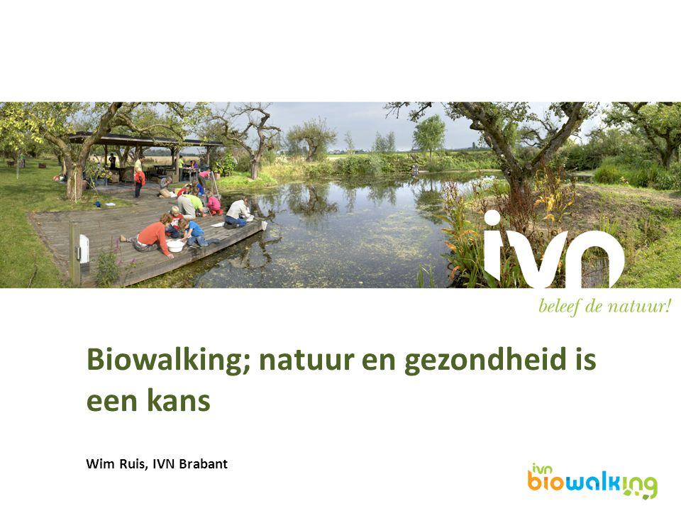 Biowalking; natuur en gezondheid is een kans