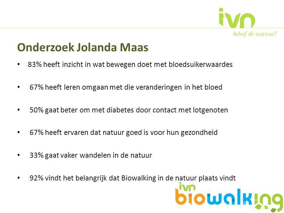 Onderzoek Jolanda Maas