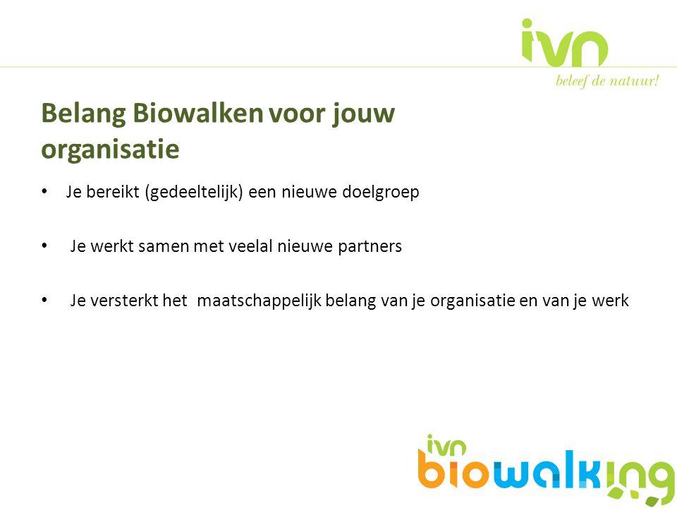 Belang Biowalken voor jouw organisatie