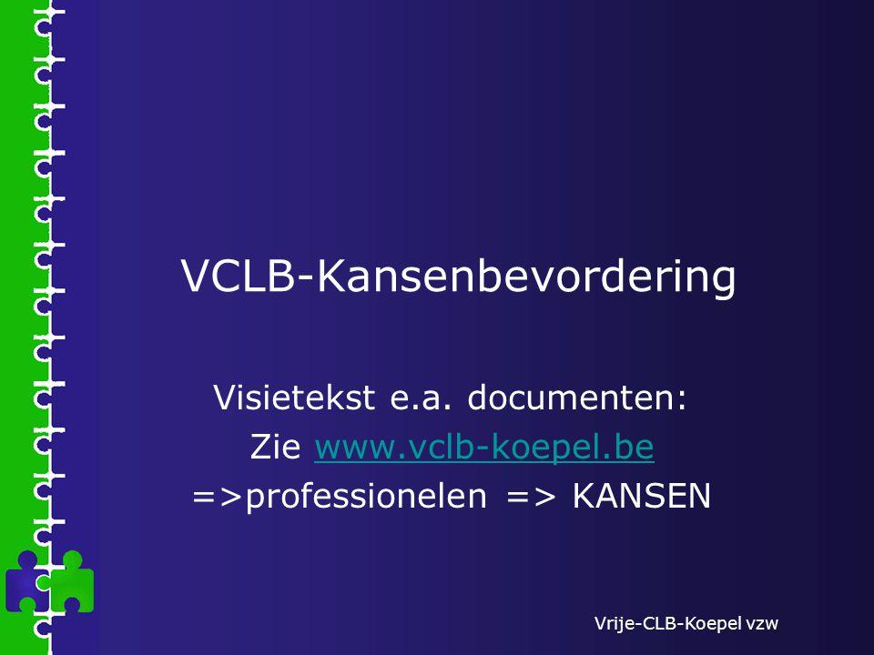 VCLB-Kansenbevordering