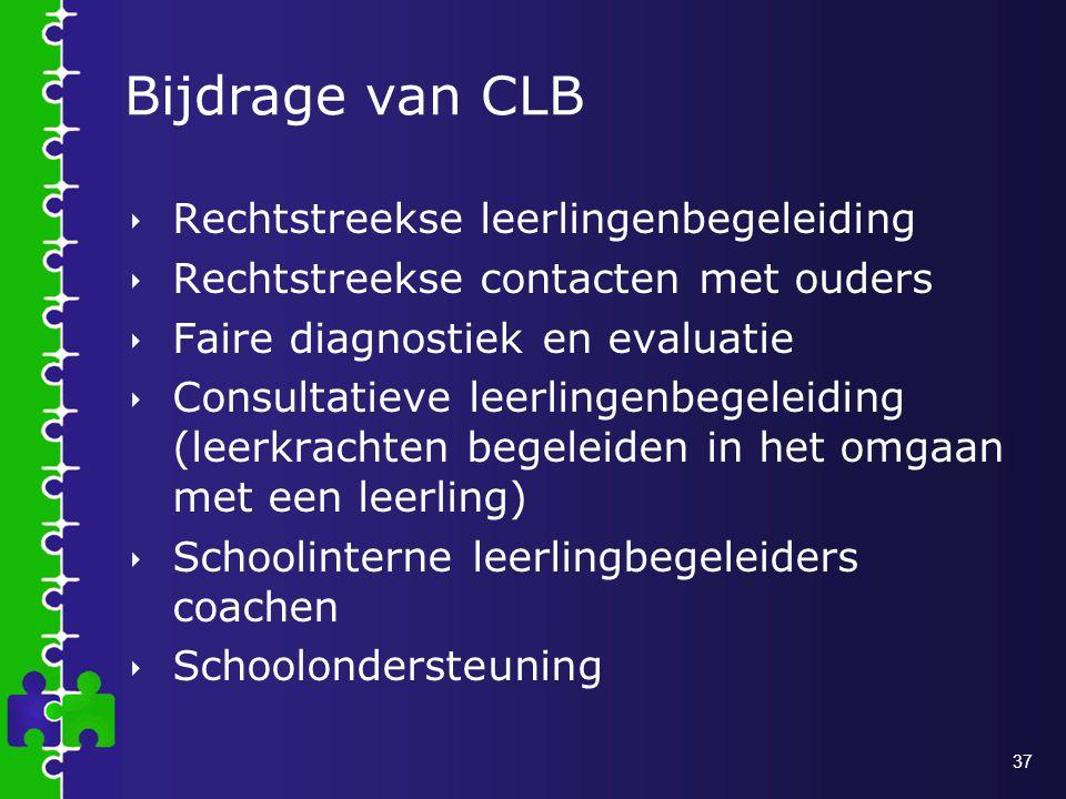 Bijdrage van CLB Rechtstreekse leerlingenbegeleiding