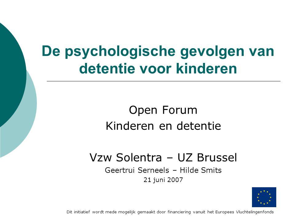 De psychologische gevolgen van detentie voor kinderen