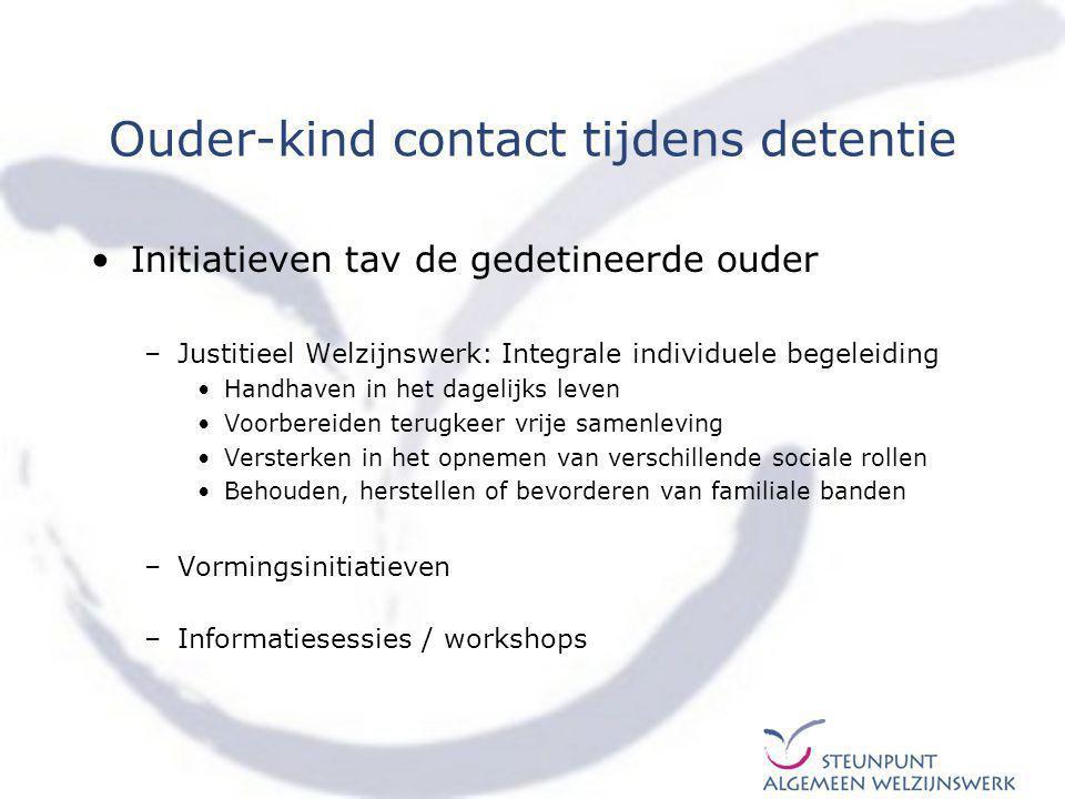 Ouder-kind contact tijdens detentie