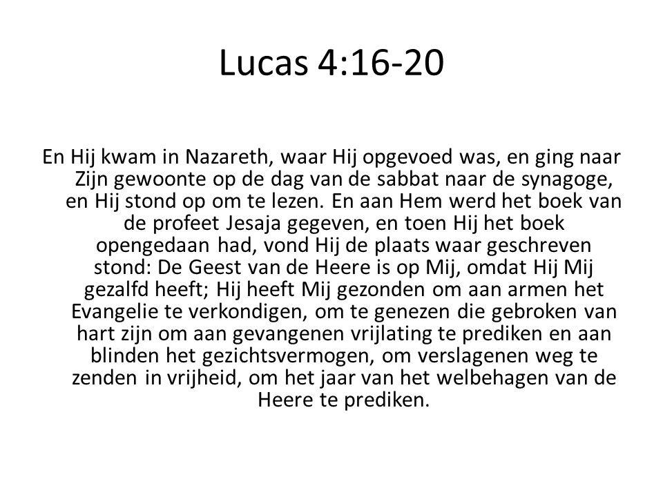 Lucas 4:16-20