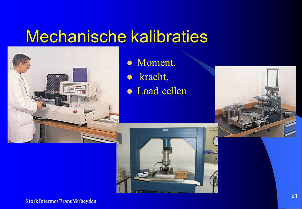Mechanische kalibraties