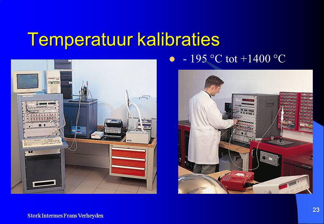 Temperatuur kalibraties