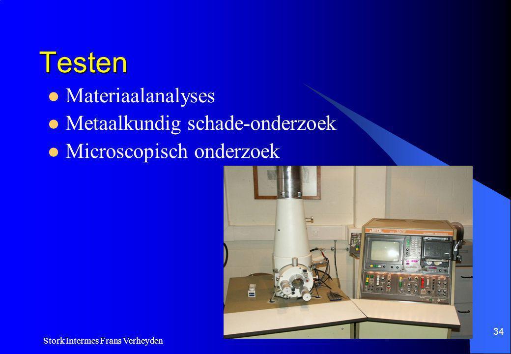 Testen Materiaalanalyses Metaalkundig schade-onderzoek