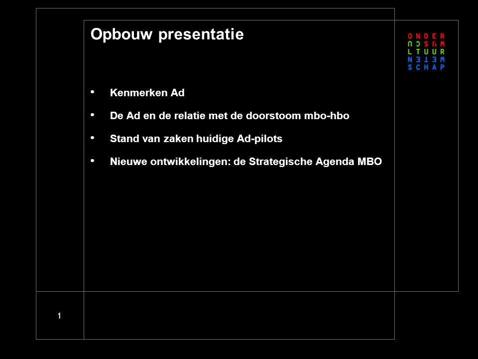 Kenmerken Ad-programma's