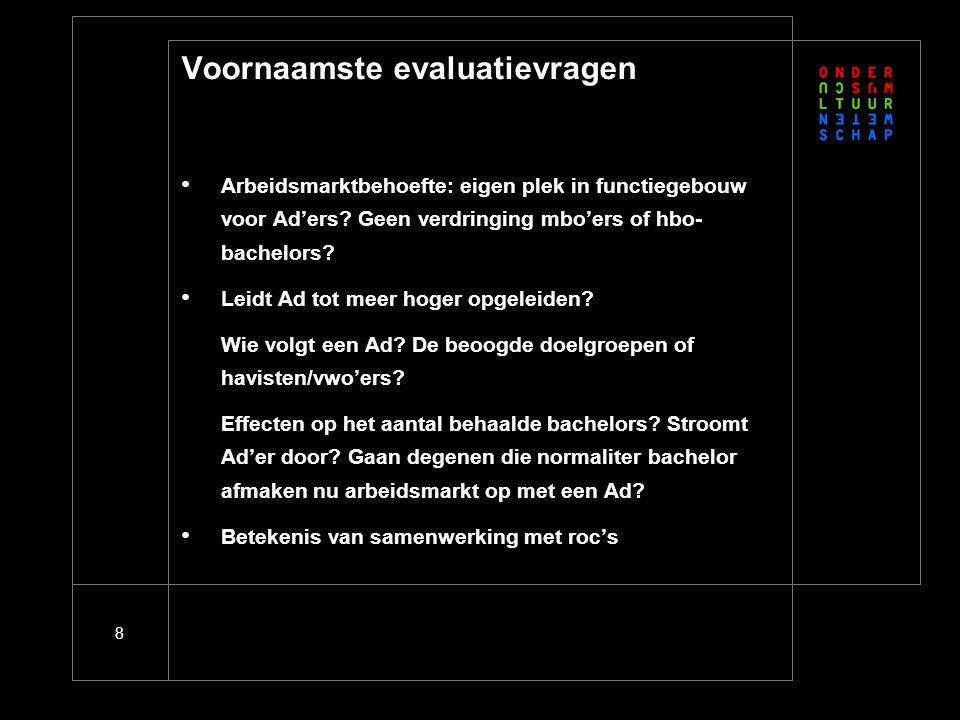 Nieuwe ontwikkelingen: Strategische agenda BVE 2008-2011