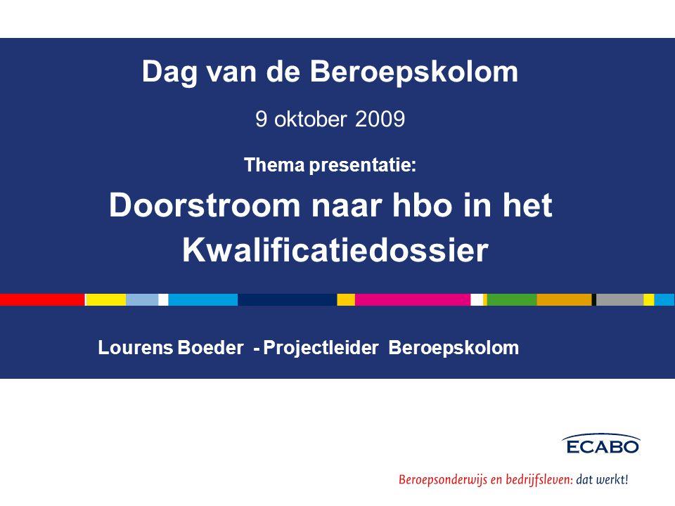Lourens Boeder - Projectleider Beroepskolom